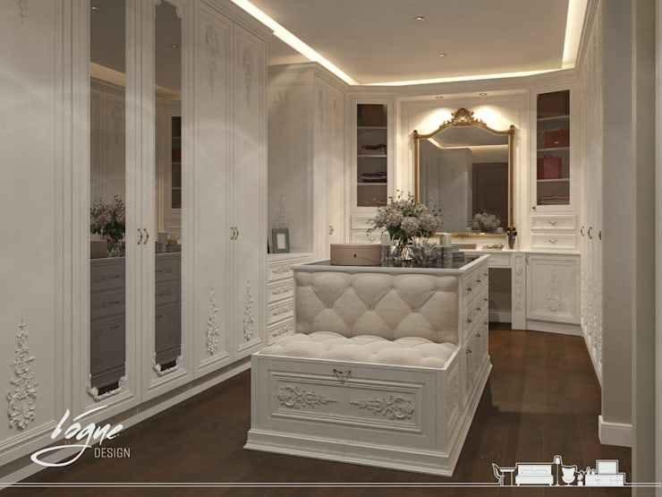 Dressing room by Vogue Design, Classic