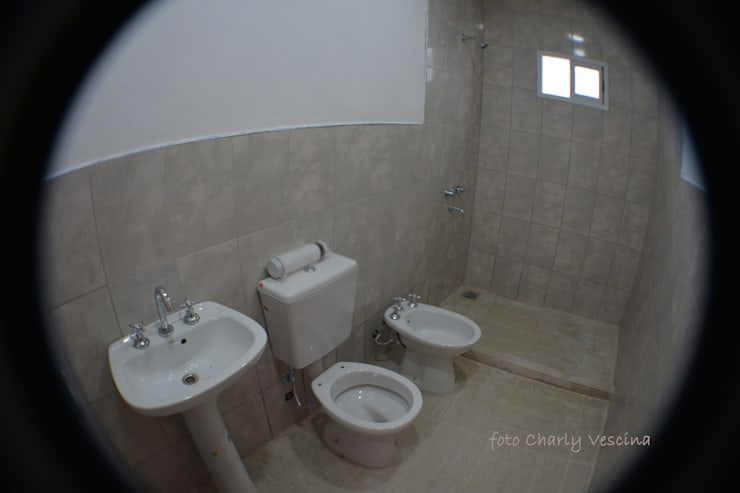 Baño: Baños de estilo  por Casas del Sol,