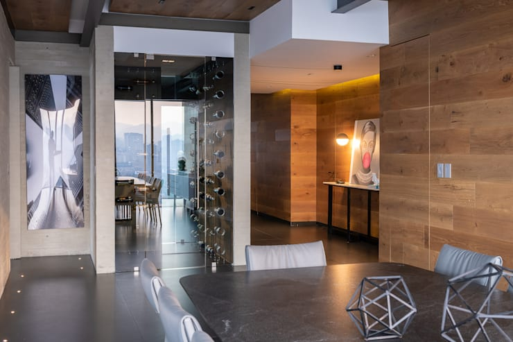 Bodegas de estilo  de Concepto Taller de Arquitectura