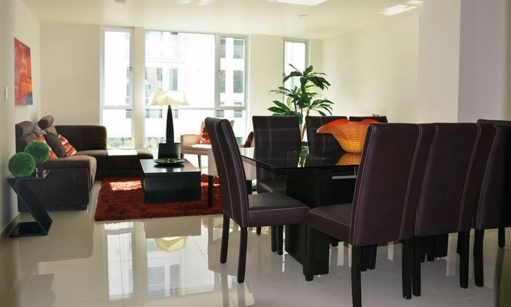 Modern living room by Servicios Inmobiliarios e Hipotecarios Orsil Modern
