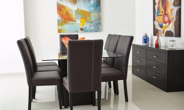 Modern dining room by Servicios Inmobiliarios e Hipotecarios Orsil Modern