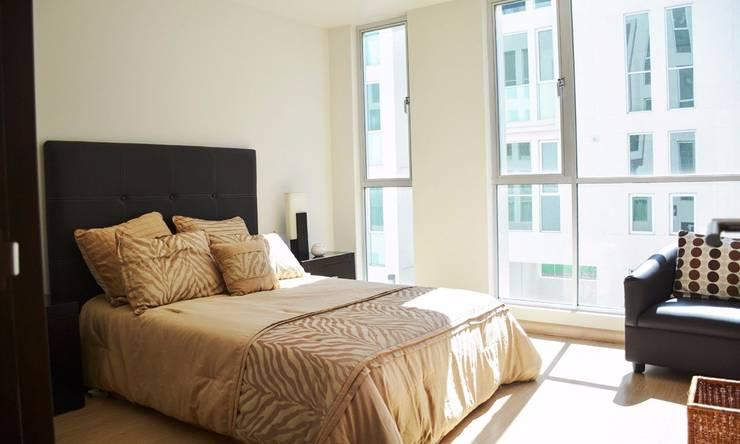 Modern style bedroom by Servicios Inmobiliarios e Hipotecarios Orsil Modern