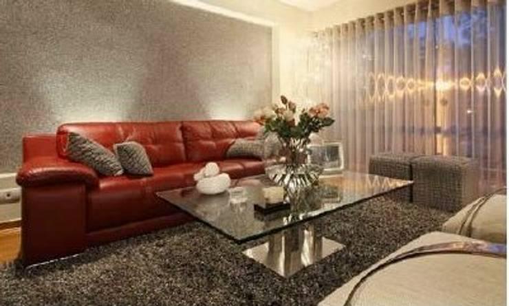 Diseño de Sala: Salas / recibidores de estilo  por Diseño Global by Romi Estrada,