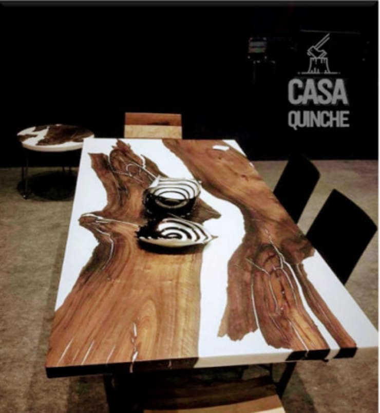 Colección Raw: Comedor de estilo  por Casa Quinche