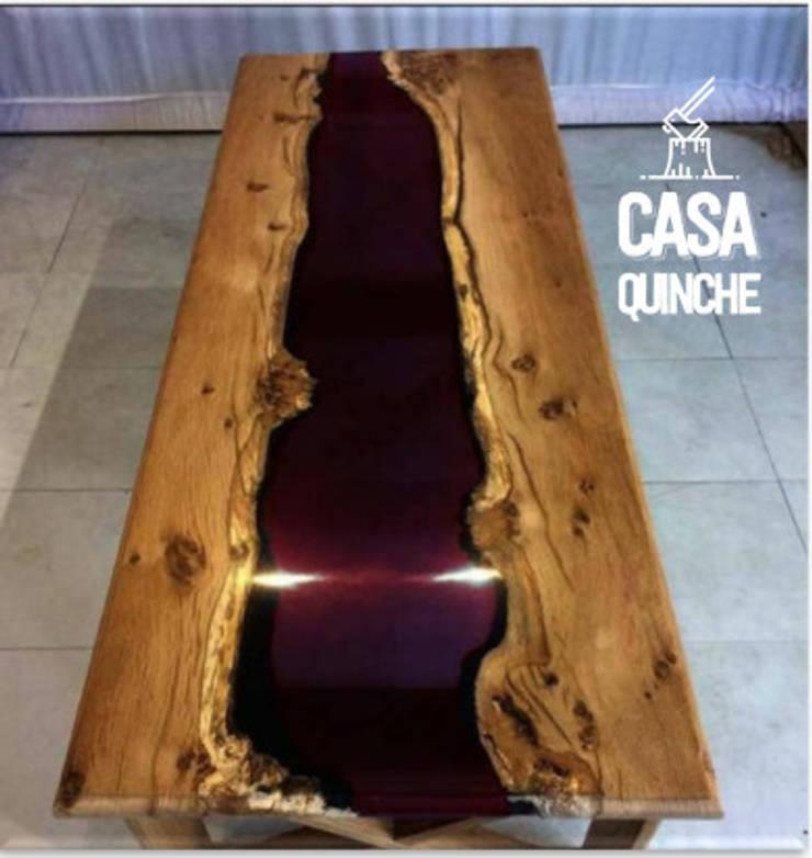 Colección RAW / mesas de centro de Casa Quinche Moderno