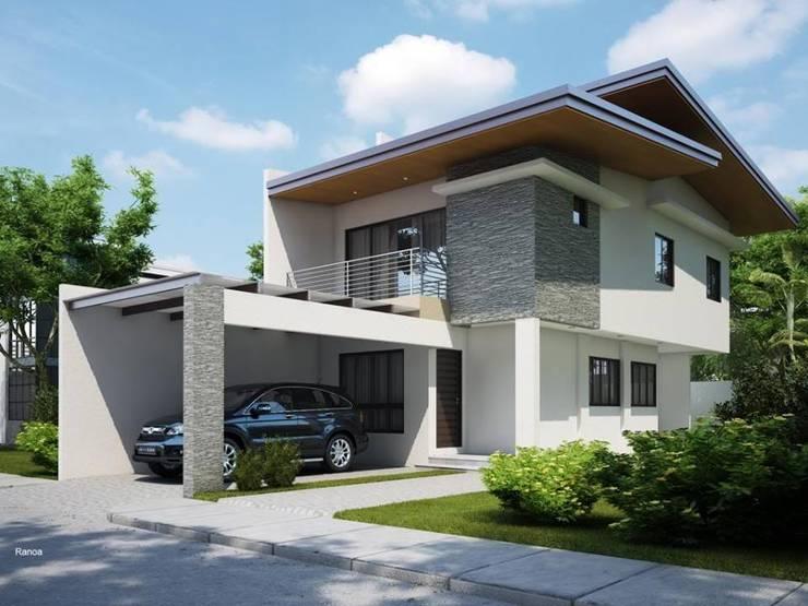 Casa contemporánea : Hogar de estilo  por Fercap Construcciones
