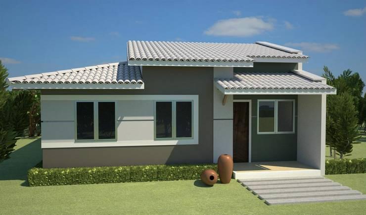 Casa tradicional: Hogar de estilo  por Fercap Construcciones