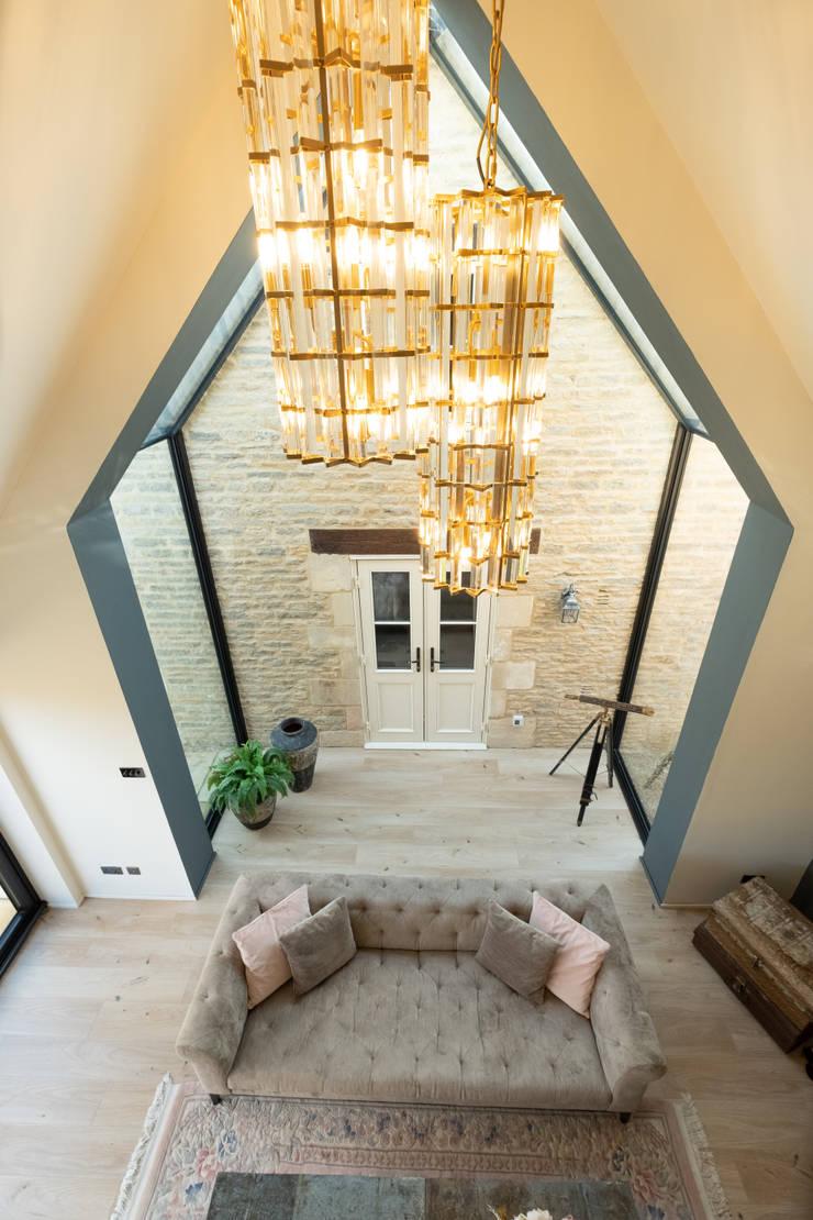 The Stables Modern living room by IQ Glass UK Modern Ceramic