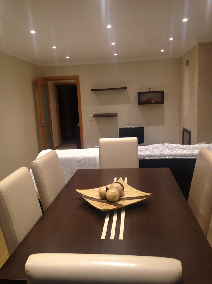 ANTES - sala de jantar por PROJETARQ