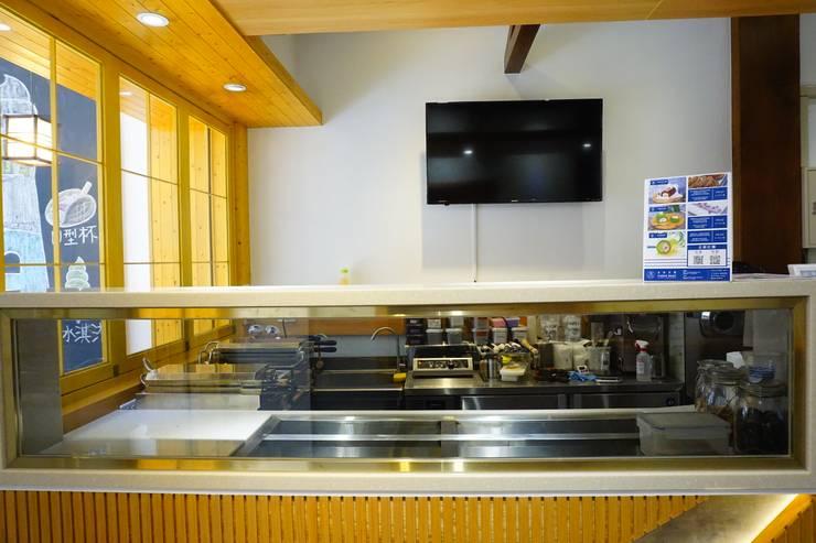 [日式文青小店]霜淇淋專賣店-kinber 金帛手制:  餐廳 by 司創仁和匯鉅設計有限公司