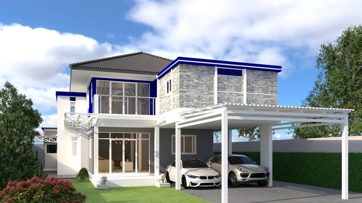 รีโนเวทบ้าน:  บ้านและที่อยู่อาศัย by บริษัท พี นัมเบอร์วัน ดีไซน์ แอนด์ คอนสตรัคชั่น จำกัด