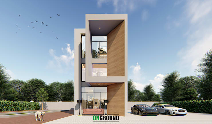 BOX OF FAMILY:  บ้านสำหรับครอบครัว by The OnGround บริษัทรับสร้างบ้านสไตล์ Modern Japanese