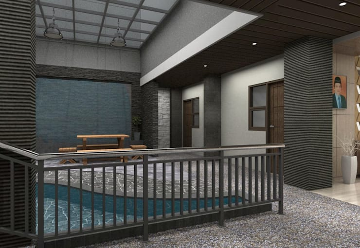 Lobby Guest House Bandung:  Pool by Maxx Details
