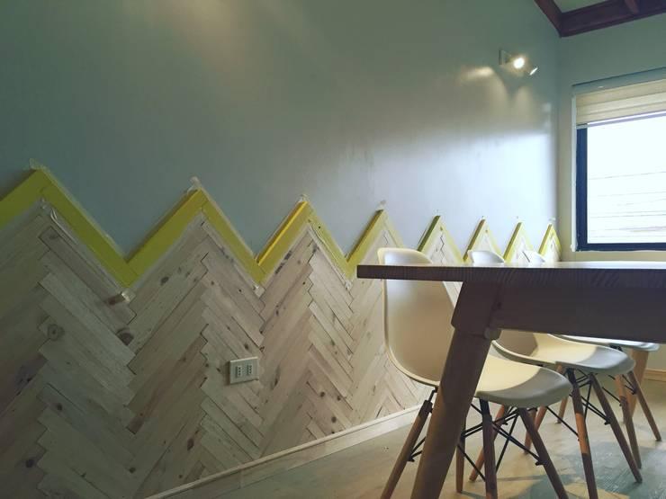 Sala de reuniones: Salas de estilo  por Estudio Independiente