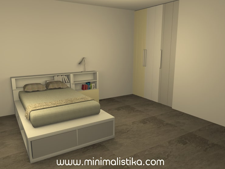 Nursery/kid's room by Minimalistika.com, Minimalist