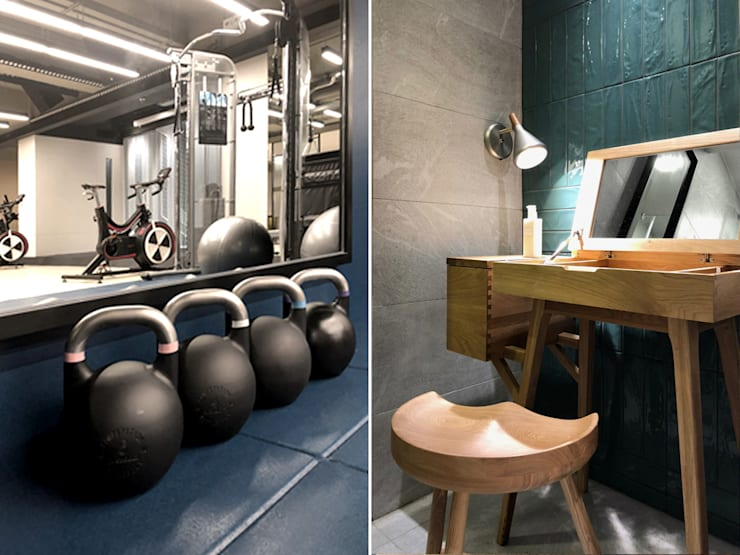 FOLLOW CLINIC & GYM:  Commercial Spaces by POCKET SQUARE LTD