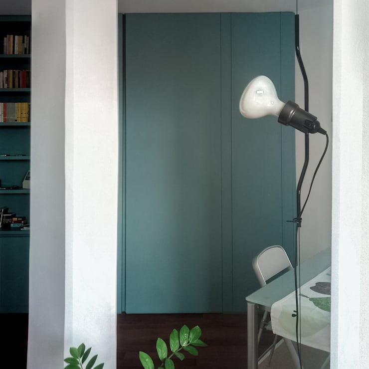 Salones de estilo  de Caleidoscopio Architettura & Design, Escandinavo