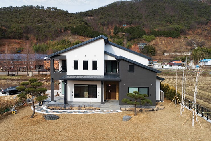 외관: 윤성하우징의  주택,