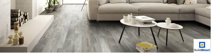 Living Room Floors:  Floors by BuildDirect