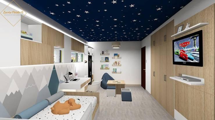 Remodelación dormitorio infantil: Dormitorios infantiles  de estilo  por Lucero Pardo M. - Diseñadora de Interiores