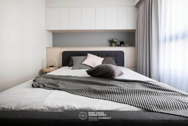 Dormitorios de estilo  por 築本國際設計有限公司, Escandinavo