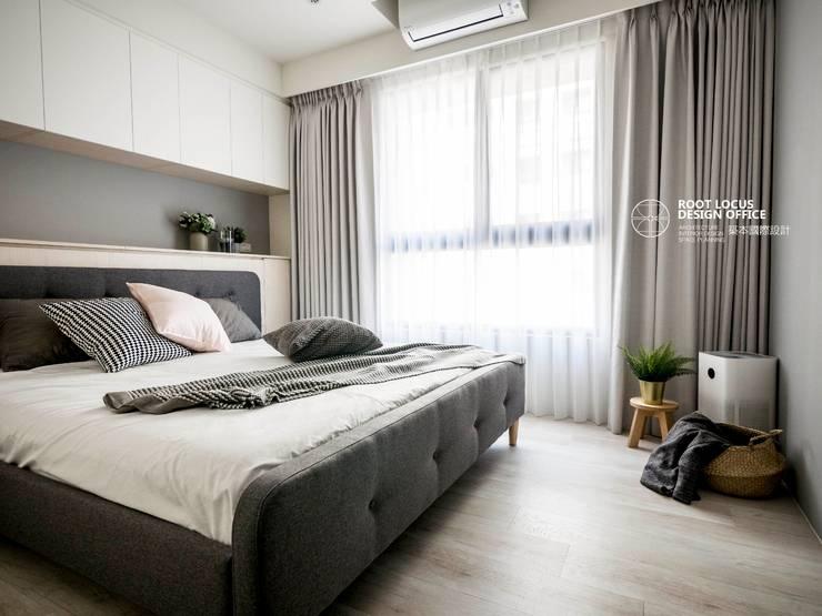 築本國際設計有限公司が手掛けた寝室, 北欧