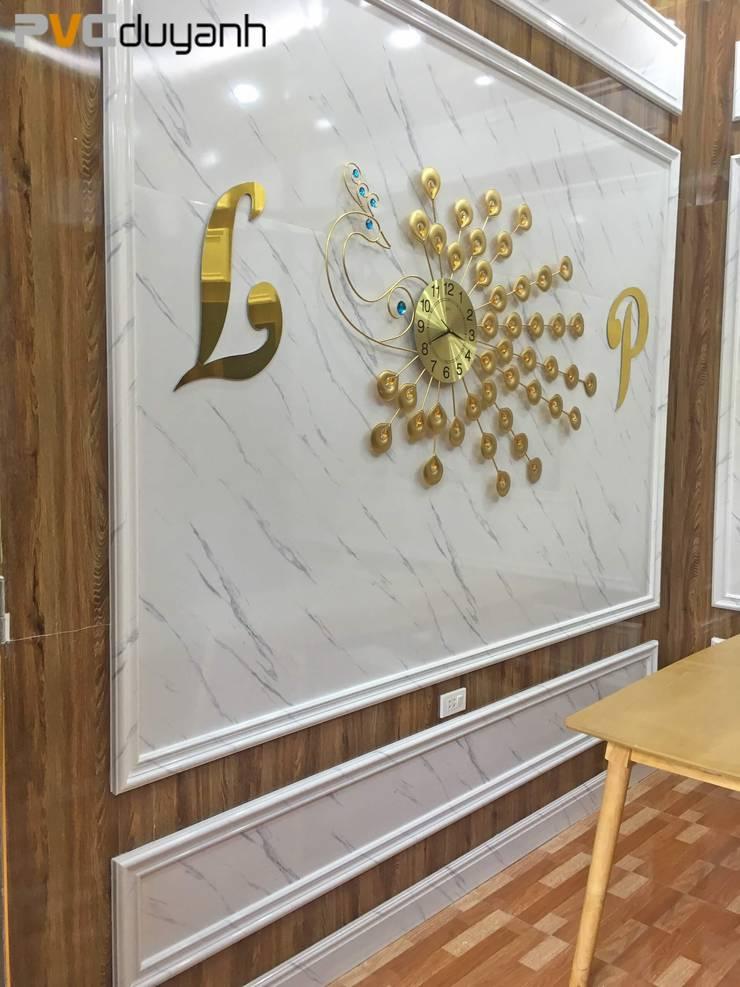 Một không gian khác được lát tấm ốp PVC giả đá Marble:   by Kinh nghiệm làm nhà