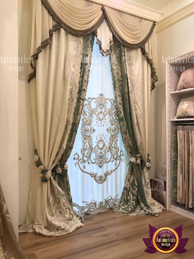 Curtain Fabrications To Accentuate your Home:   by Luxury Antonovich Design
