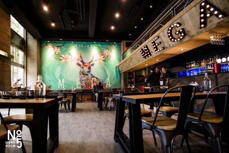 純手繪壁畫:  餐廳 by NO5WorkRoom