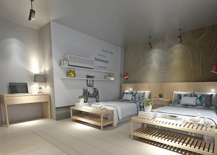 50GR Mimarlık – Küçükçekmece Çocuk Odası 2:  tarz Çocuk Odası