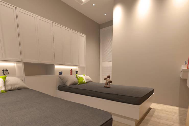 50GR Mimarlık – Küçükçekmece Çocuk Odası:  tarz Çocuk Odası
