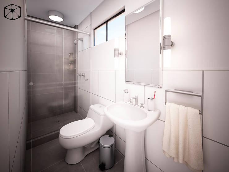 Badezimmer von STUDIO ZINKIN