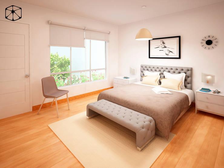 Kleines Schlafzimmer von STUDIO ZINKIN