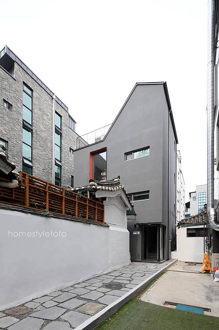 전경: 주택설계전문 디자인그룹 홈스타일토토의  주택