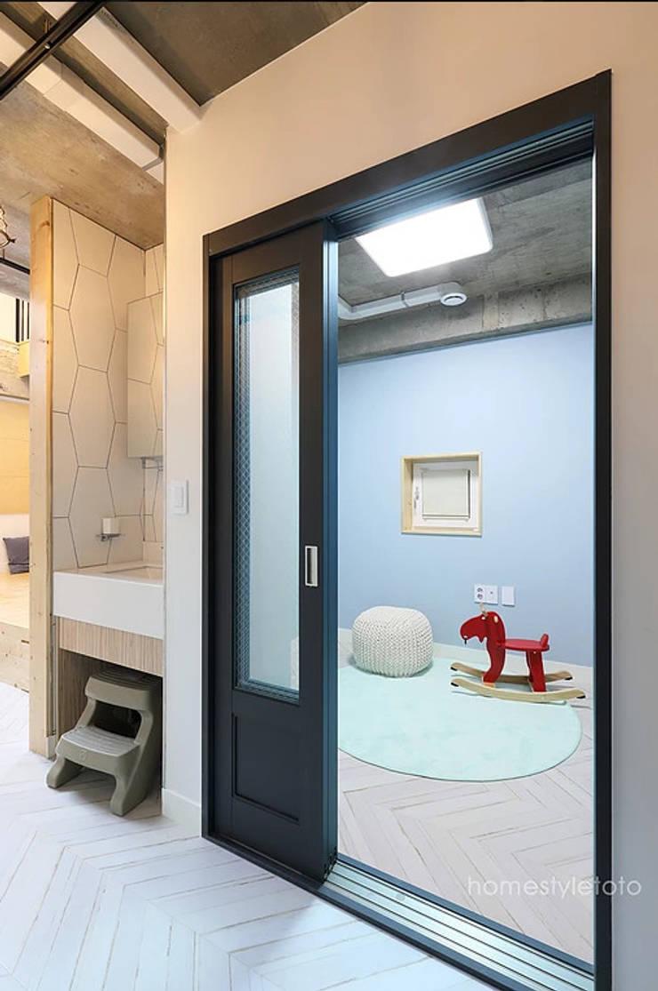 키즈룸: 주택설계전문 디자인그룹 홈스타일토토의  방
