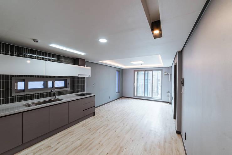 남양주_Olive Avenue: AAPA건축사사무소의  주방