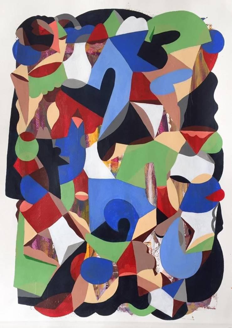 Mujer de muchos pensamientos: Arte de estilo  por Adrián Wacquez