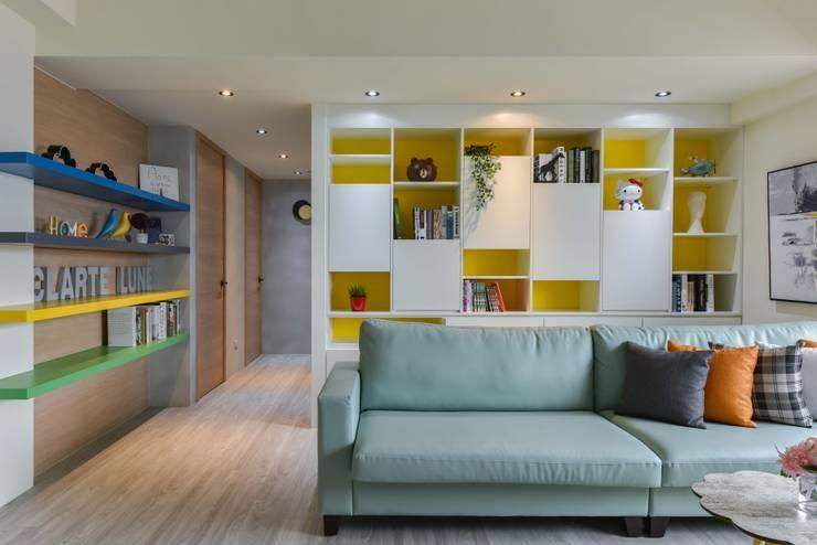 調色盤:  客廳 by 澄月室內設計