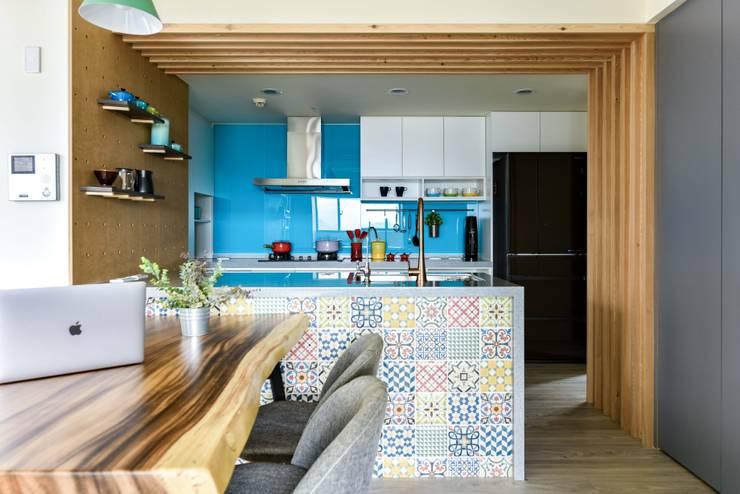 調色盤:  廚房 by 澄月室內設計