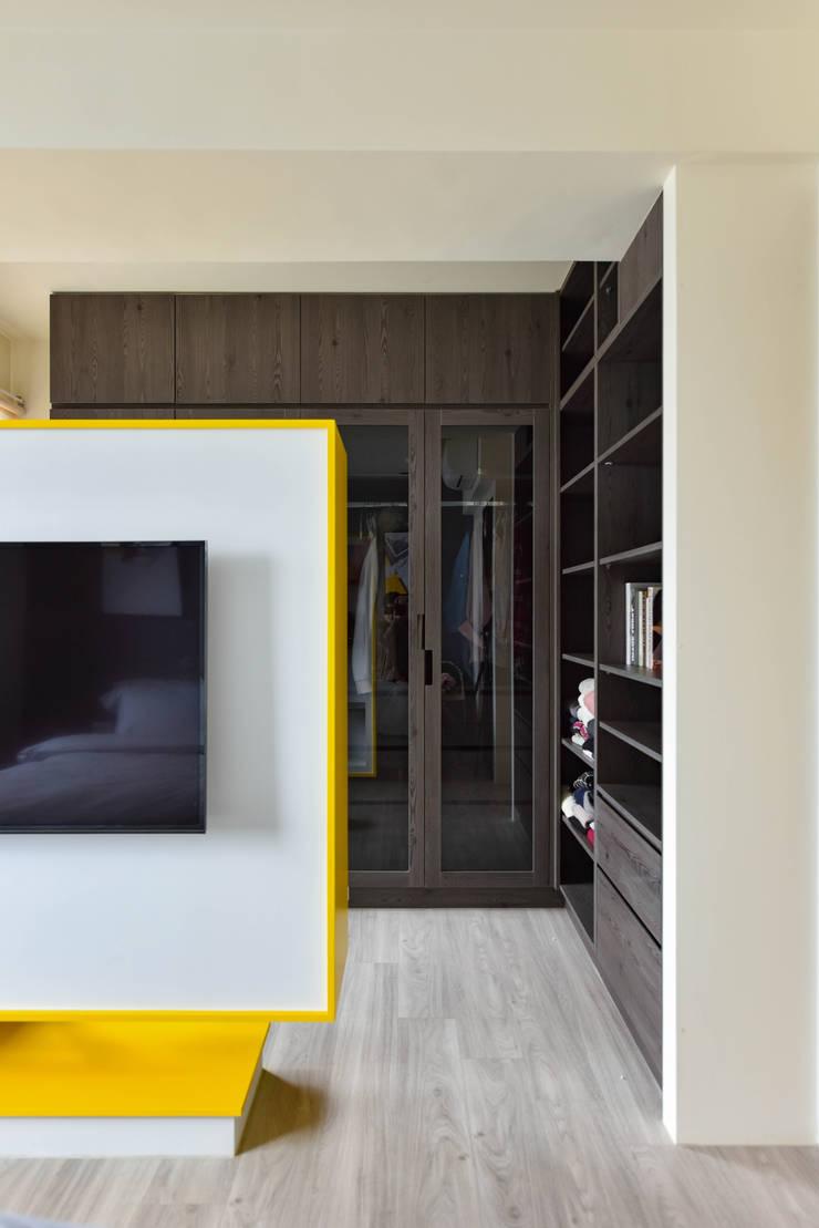 調色盤:  更衣室 by 澄月室內設計