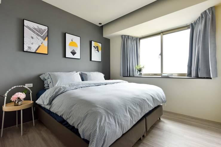 調色盤:  臥室 by 澄月室內設計