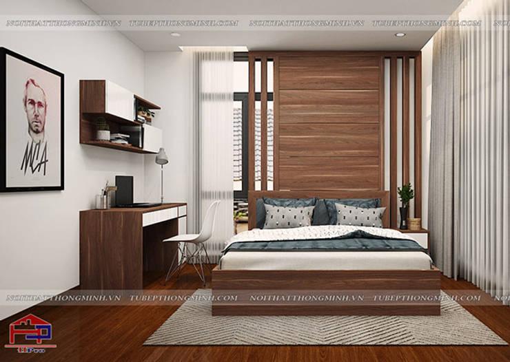 Thiết kế nội thất phòng ngủ của bé nhà anh Phương ở Thanh Hóa:  Bedroom by Nội thất Hpro