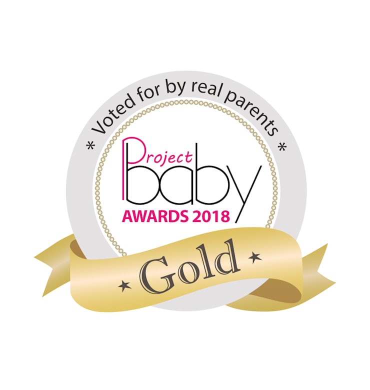 Project Baby Award for Best Travel Product Gold for BabyHub SleepSpace travel cot:  Nursery/kid's room by Babyhub Ltd