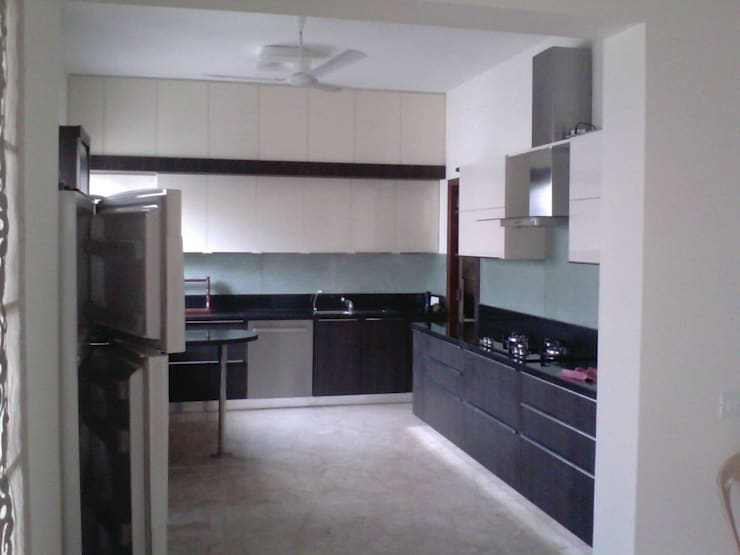 Small kitchens by SSDecor, Asian