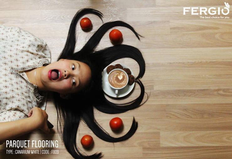 Canarium White :  Walls & flooring by PT. Wahana Adhi Pratama