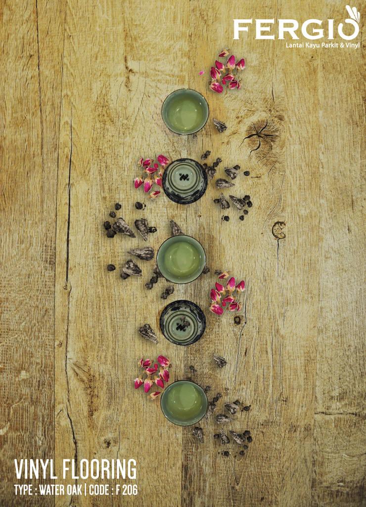 Water Oak :  Walls & flooring by PT. Wahana Adhi Pratama