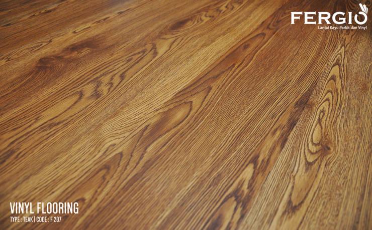 Teak :  Walls & flooring by PT. Wahana Adhi Pratama