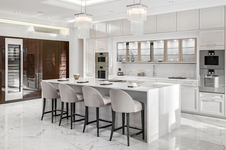 Built-in kitchens by Mark Hardy