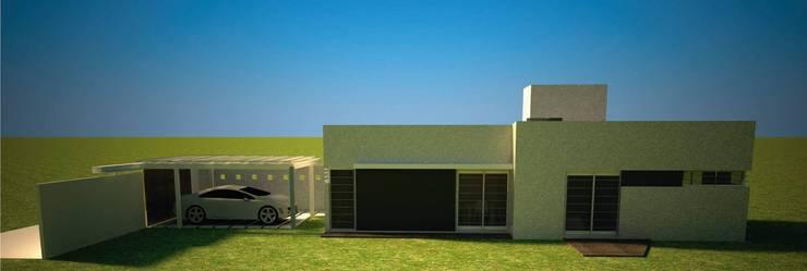 Prefabricated Home by Arq. Germán Perez Biello, Minimalist