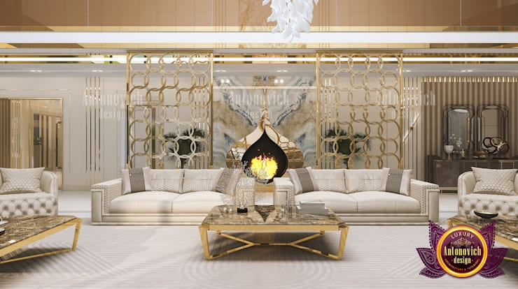 in stile  di Luxury Antonovich Design